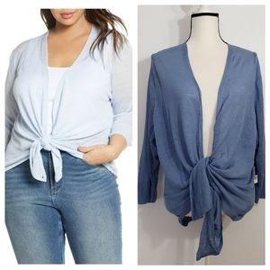 NIC+ZOE NWT plus size light 4 ways cardigan sz2X